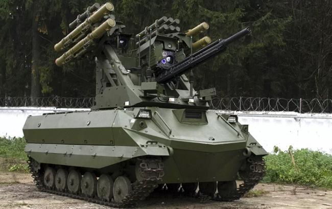 Боевой многофункциональный робот «Уран-9»