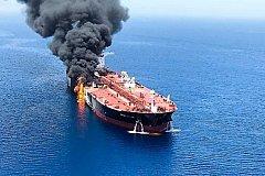 В Красном море атакован и горит иранский танкер