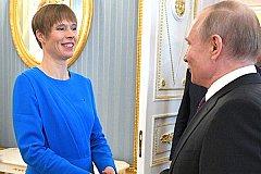 Президент Эстонии пригласила Путина в Тарту