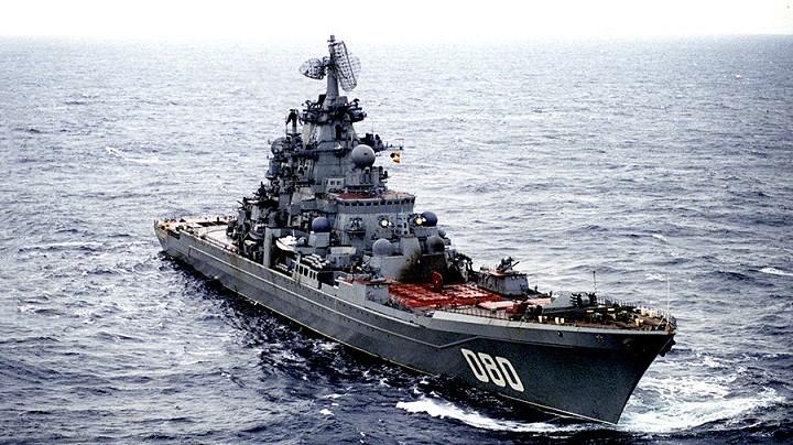 Атомный ракетный крейсер «Адмирал Нахимов»