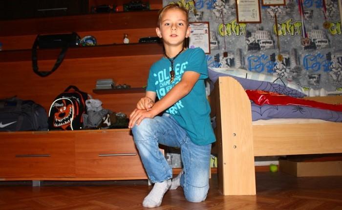 Валера Гофман, 10 лет — легкая форма ДЦП
