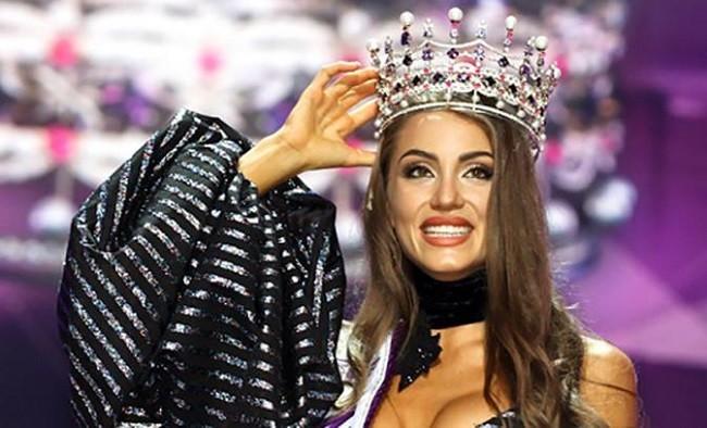 Обладательница титула «Мисс Украина» Маргарита Паша