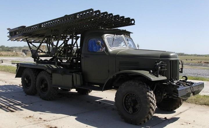 Советская ракетная система «Катюша»