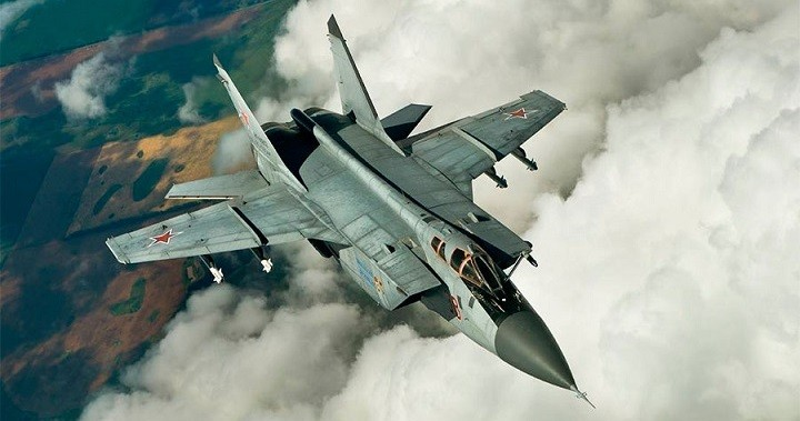 МиГ-31. Фото: MOD Russia/Globallookpress