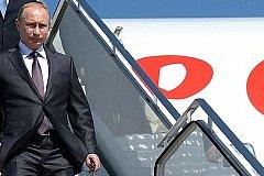 Президент России прибыл на саммит БРИКС в Бразилию