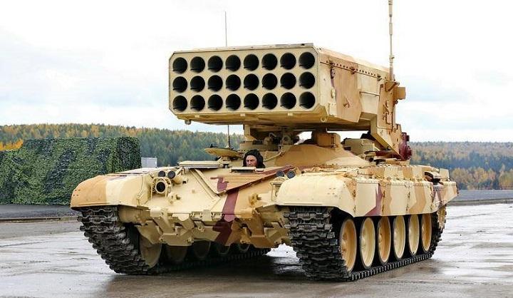 В 2020 году Армию России вооружат системой ТОС-2