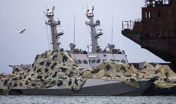 Задержанные в Керченском проливе катера Россия возвращает Украине