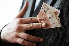 Ущерб от коррупции в России за 8 месяцев составил 102 млрд рублей