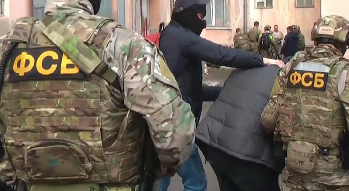 Архивное фото задержания ФСБ РФ
