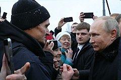 Путин советует россиянам на зацикливаться на украинской тематике.