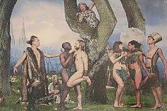 В шведской церкви появился алтарь с ликами однополых пар вместо Адама и Евы