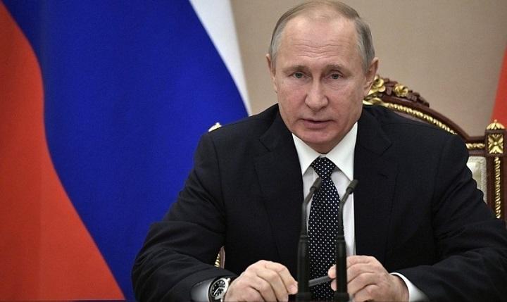 Путин: резолюция Европарламента о Второй мировой войне - это ложь!