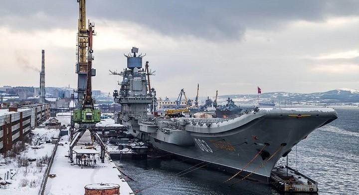 Авианесущий крейсер «Адмирал Кузнецов». Фото: ТАСС