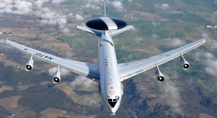 У границ России замечены пять разведывательных самолетов НАТО