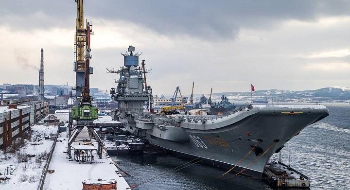 Пожар на авианесущем крейсере «Адмирал Кузнецов»