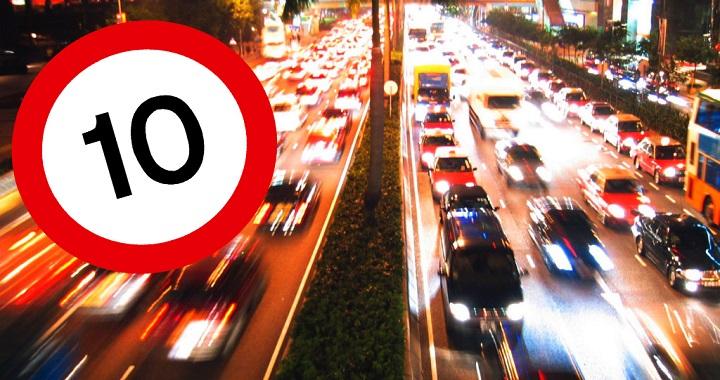 Правительство не сдержало обещание не понижать нештрафуемый порог превышения скорости