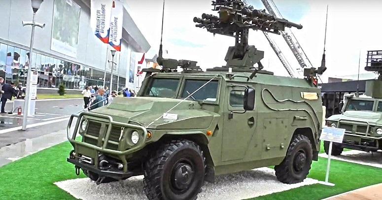 Военные России завершили испытания новейшего комплекса ПВО «Гибка-С».