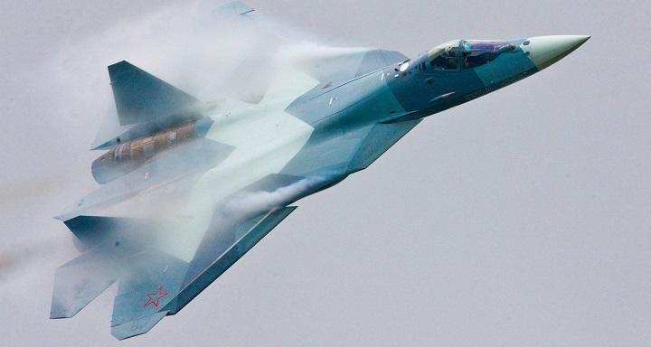 В Хабаровском крае потерпел катастрофу истребитель Т-50