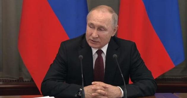 Главной целью Путин считает повышение уровня доходов россиян