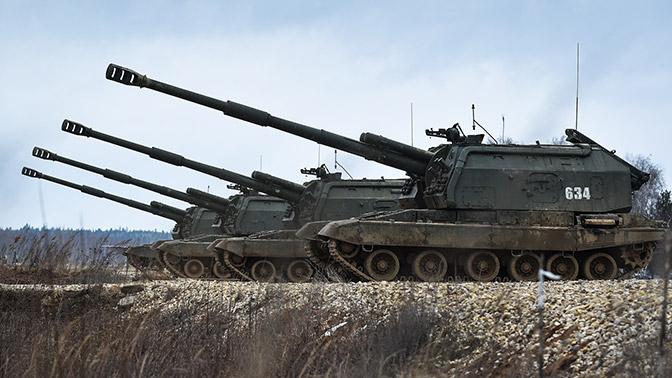 Армия России получила модернизированные самоходные гаубицы «Мста-С»