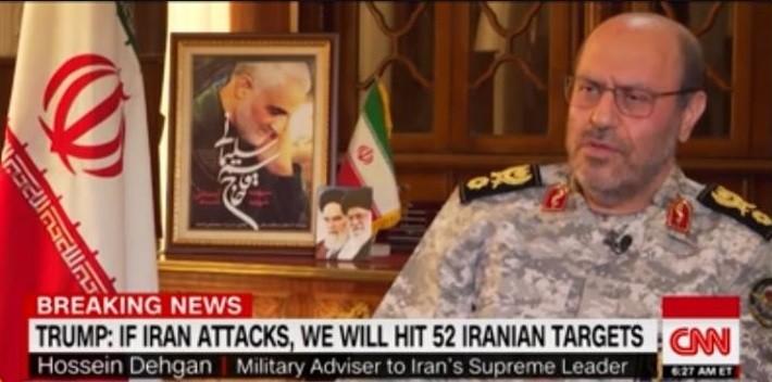 Советник верховного лидера Ирана Хосейн Деган. Фото: CNN