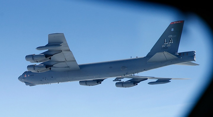 Шесть бомбардировщиков B-52 ВВС США переброшены ближе к Ирану.