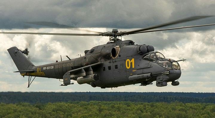 Россия поставит в Нигерию семь вертолетов Ми-35