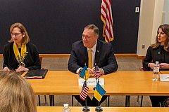 Помпео заявил в Киеве, что Крым для Украины потерян навсегда