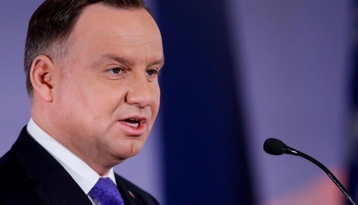 Русофобия польского президента Дуды зашкаливает.