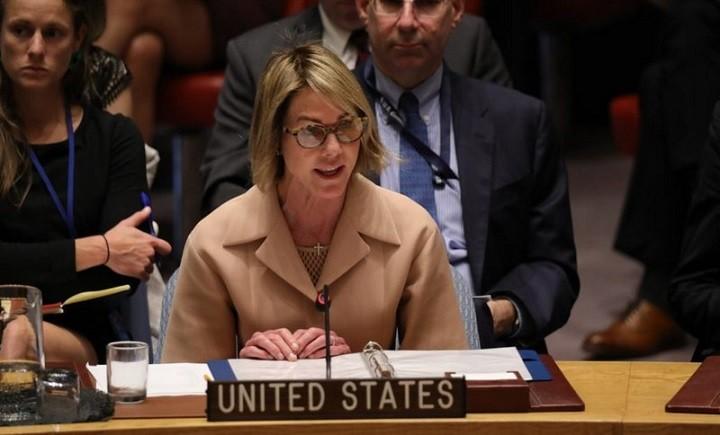 Постпред США при ООН Келли Крафт