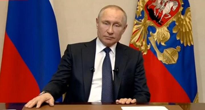 Путин следующую неделю объявил нерабочей.
