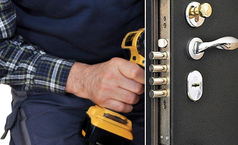Замена замка в металлической двери – непростая процедура