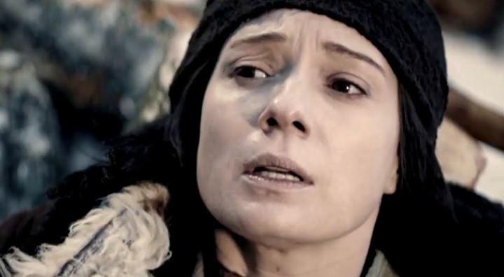Хаматоваа в роли Зулейхи. Кадр сериала «Зулейха открывает глаза».