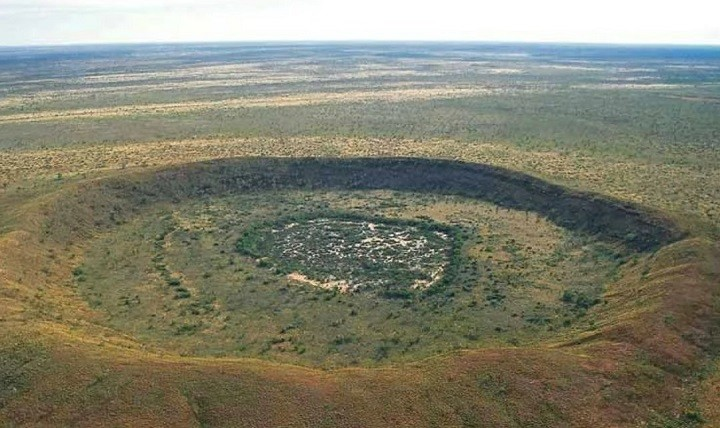 Вредефорт кратер