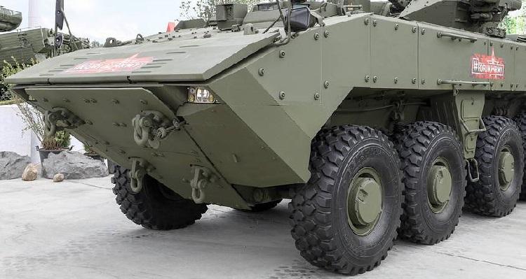 В Армии России возможно появится танк на колесах.