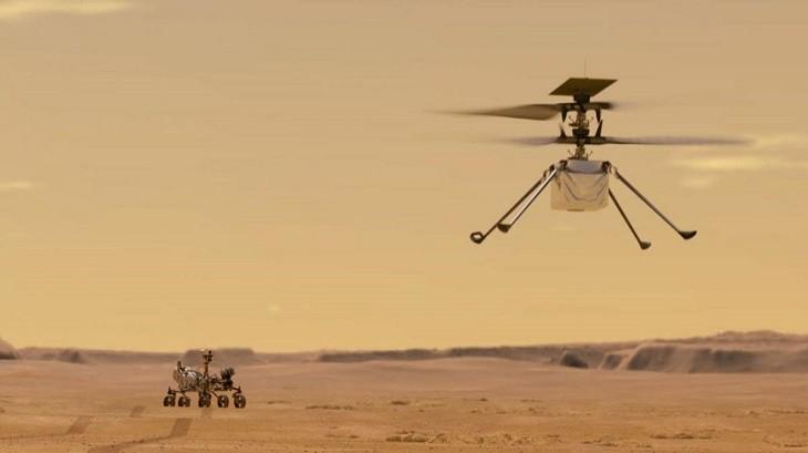 НАСА создало вертолет для исследования Марса и готово его запустить. фото 2