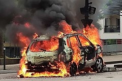 Дижон - это бессилие властей и полиции Франции.