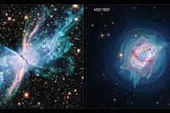 Телескоп Хаббл сделал потрясающие снимки фейерверков планетарных туманностей.