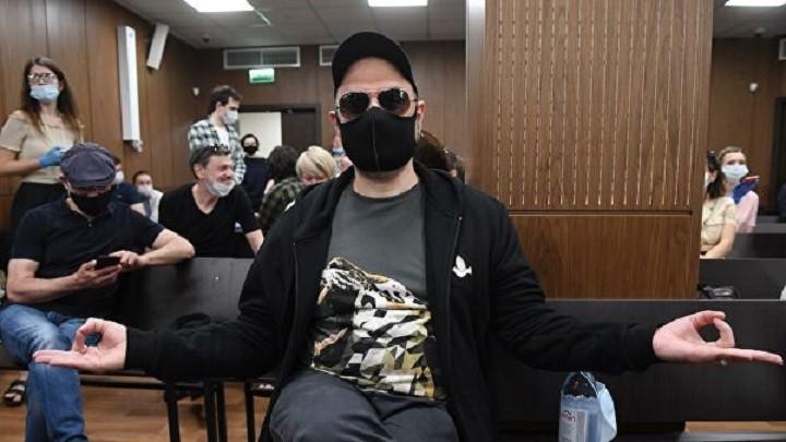 Кирилл Серебренников на оглашении приговора в Мещанском суде Москвы. Фото: ria.ru