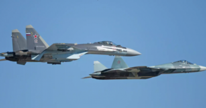 В ВКС России прошел эксперимент по применению «роя» истребителей. фото 2