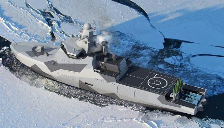 Российский боевой ледокол в США назвали наступательным оружием.