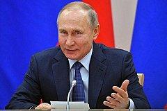 Путин: Повесив флаг ЛГБТ, они показали, кто там работает.