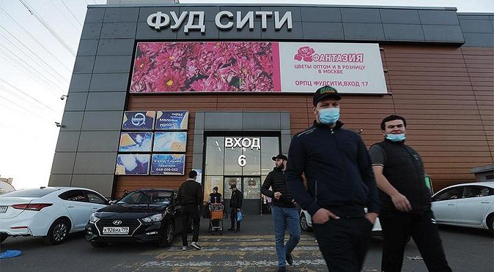 На московском рынке «Фуд Сити» запретили торговать армянам.