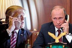 Путин и Трамп провели содержательную беседу по телефону.