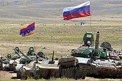В Армении прошли маневры Армии России.