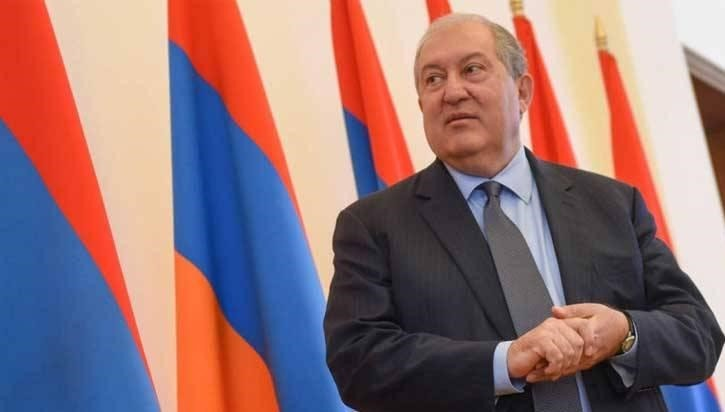 Президент Армении Армен Саркисян. Фото: 24news.am