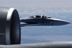 Увеличилась частота перехватов самолетов НАТО и США у границ России.