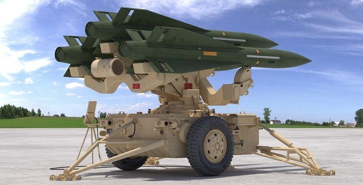 Американский зенитно-ракетный комплекс (ЗРК) средней дальности MIM-23 Hawk.