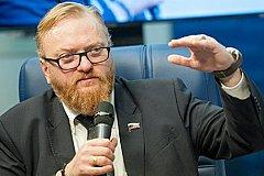 Милонов считает полеты чиновников бизнес-классом на народные деньги нормальным.