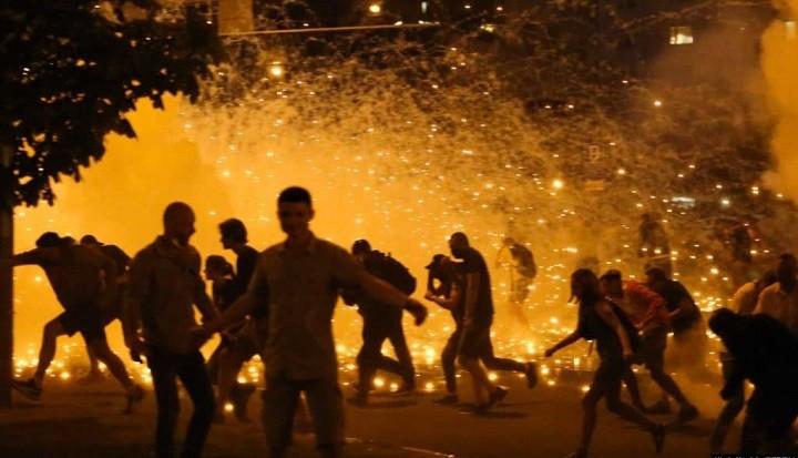 Белоруссия в огне. Противостояние протестующих и силовиков разгорается с новой силой. фото 2